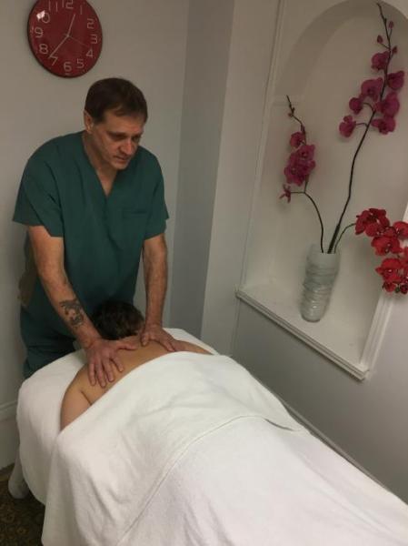 massage à domicile pour femmes